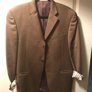 Burberry authentic men's suit coat 4o reg